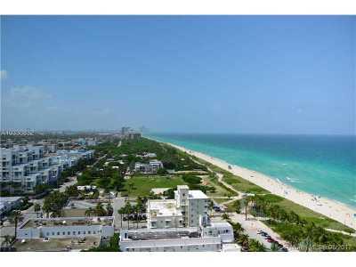 Miami Beach Condo Active-Available: 7330 Ocean Terrace #21-D