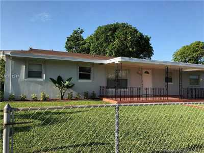 Miami Gardens Single Family Home Active-Available: 4936 Northwest 186th St