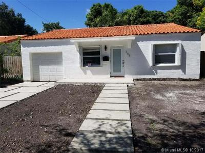 Miami-Dade County Single Family Home Active-Available: 365 Northeast 88th St