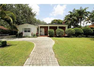 Coral Gables Single Family Home Active-Available: 657 North Greenway Dr