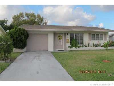 Tamarac Single Family Home Active-Available: 4915 Northwest 53rd St