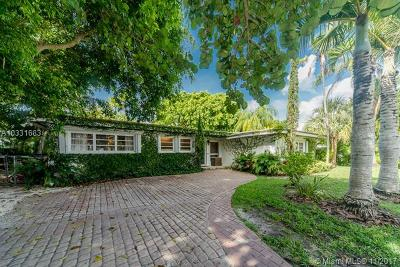 Key Biscayne Single Family Home For Sale: 395 Harbor Ct