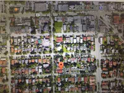 Miami Single Family Home Active-Available: 1035 Southwest 23rd Ave