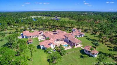 Jupiter Single Family Home For Sale: 2000 SE Ranch Road