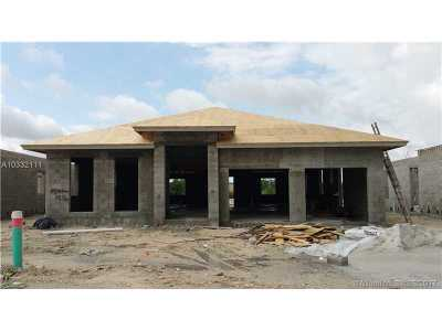 Miami Single Family Home Active-Available: 14754 Southwest 38th Terrace