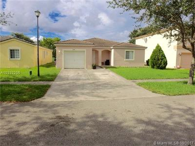 Miramar Single Family Home Active-Available: 10541 Southwest 24th Ct