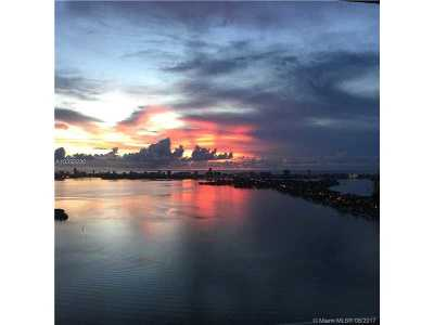 Miami Condo Active-Available: 1800 North Bayshore Dr #2205
