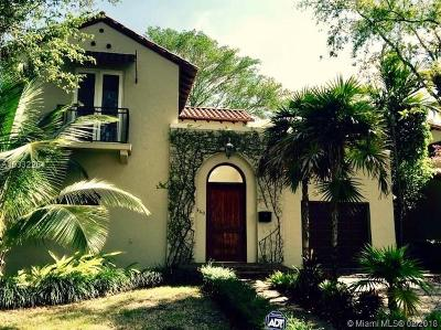 Coral Gables Single Family Home For Sale: 440 Rosaro Ave