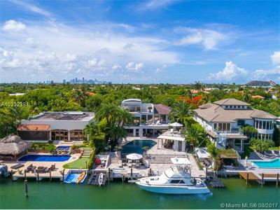 Key Biscayne Single Family Home For Sale: 350 Island Drive
