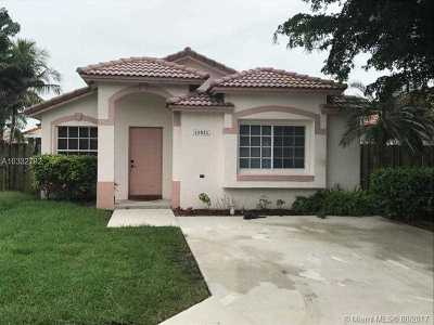 Single Family Home For Sale: 15021 SW 143rd St