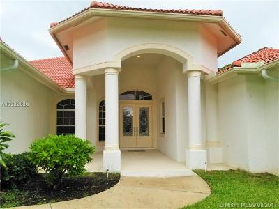 Jupiter Single Family Home For Sale: 15633 Jupiter Farms Road