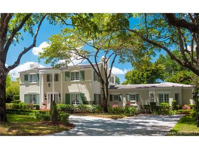 Coral Gables Single Family Home Active-Available: 3310 Alhambra
