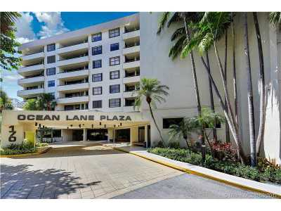 Key Biscayne Condo Active-Available: 170 Ocean Lane Dr #911