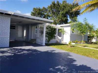 Miami-Dade County Single Family Home Active-Available: 835 Northeast 179th Ter