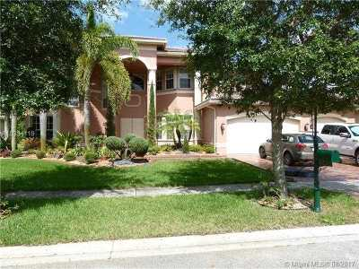 Miramar Single Family Home Active-Available: 4533 Southwest 195th Way