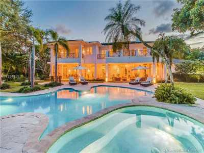 Coral Gables Single Family Home Active-Available: 9001 Banyan Dr