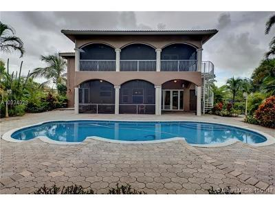 Davie Single Family Home For Sale: 6310 SW 56th St