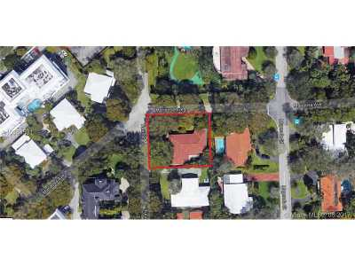 Coral Gables Residential Lots & Land For Sale: 1110 Mariposa Ave