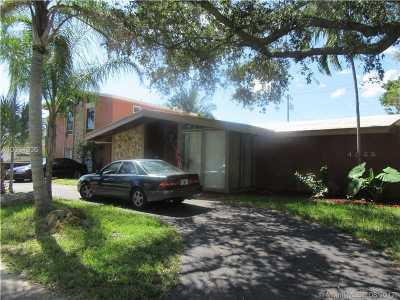 Hollywood Single Family Home For Sale: 4322 Polk St