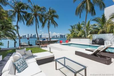 Miami Beach Single Family Home For Sale: 302 W San Marino Dr