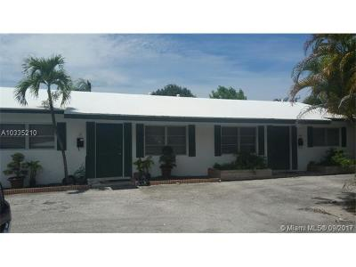 Fort Lauderdale Multi Family Home Active-Available: 709 Southwest 14th Ct