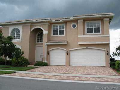 Miramar Single Family Home Active-Available: 18189 Southwest 54th St