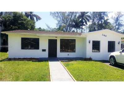 Miami-Dade County Single Family Home Active-Available