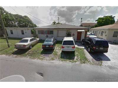 Hallandale Single Family Home Active-Available: 30 Southeast 3 Ave