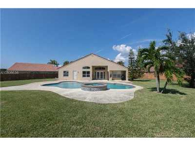 Broward County Single Family Home Active-Available: 19176 Southwest 12 Street