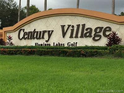 Pembroke Pines Condo For Sale: 251 SW 134th Way #308M