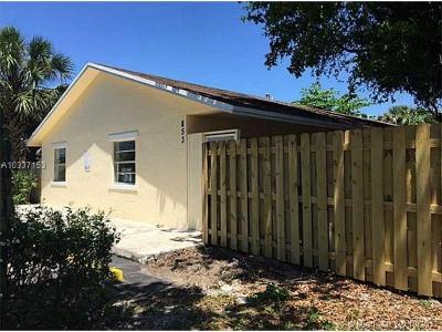 Pompano Beach Multi Family Home For Sale: 853 SW 9th Ct