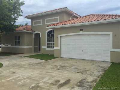 Hialeah Single Family Home Active-Available: 17130 Northwest 87th Ave