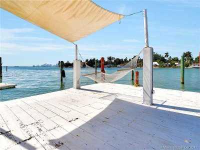 North Bay Village Single Family Home For Sale: 7548 W Treasure Dr