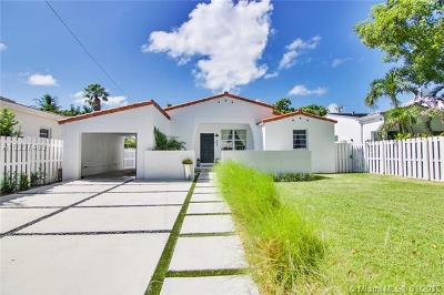 Miami Beach Single Family Home Active-Available: 540 West 50th St