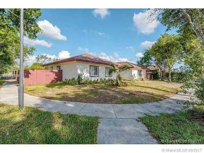 Hialeah Single Family Home Active-Available: 20039 Northwest 62nd Ave