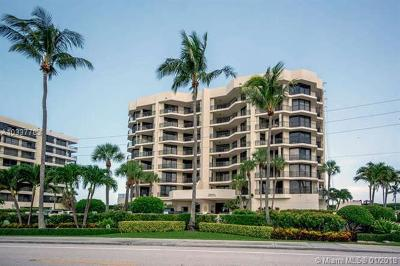 Jupiter Condo For Sale: 19850 Beach Rd #2A