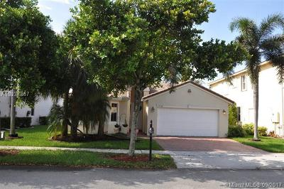 Miramar Single Family Home Active-Available: 13120 Southwest 26 St