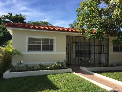 Miami-Dade County Single Family Home Active-Available: 1030 Northeast 83rd St