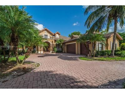 Davie Single Family Home For Sale: 4177 Winners Circle