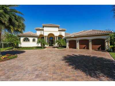 Davie Single Family Home For Sale: 12401 N Stonebrook Cir