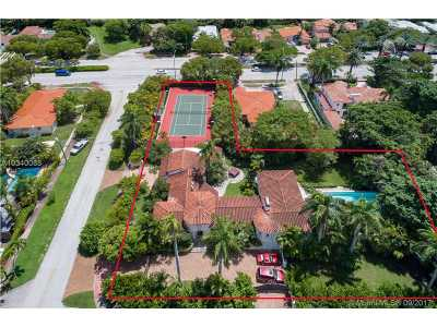 Miami Beach Single Family Home Active-Available: 5185 North Bay Rd