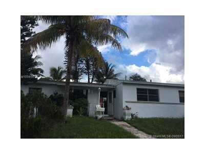 Miami Gardens Single Family Home Active-Available: 1251 Northwest 191st St