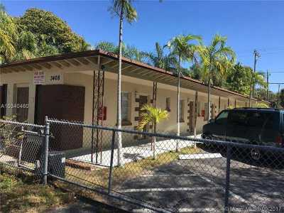 West Palm Beach Multi Family Home For Sale: 3404-3408 Broadway