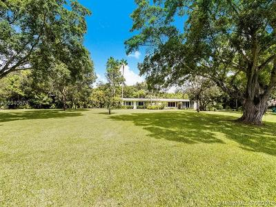 Pinecrest Single Family Home For Sale: 11400 SW 68th Ct