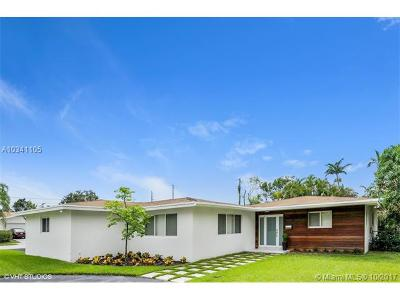 Pinecrest Single Family Home For Sale: 7400 SW 131st St