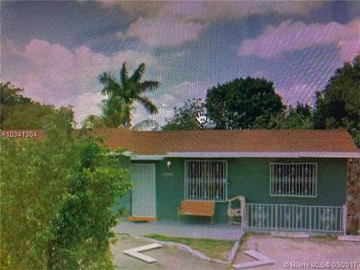 Miami Gardens Single Family Home For Sale: 19700 NW 49th Ave