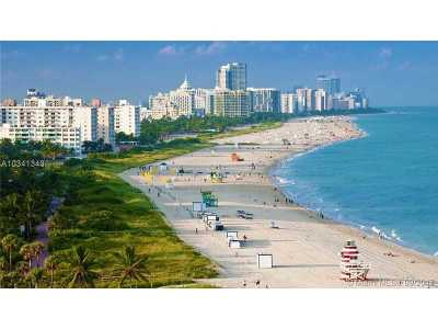 Miami Beach Condo Active-Available: 6039 Collins Ave #409