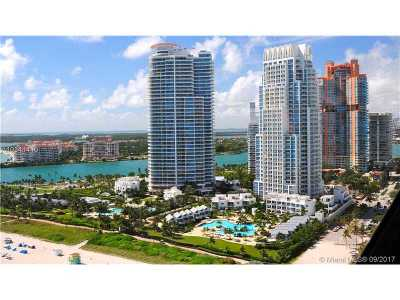 Miami Beach Condo Active-Available: 50 South Pointe Dr #1706