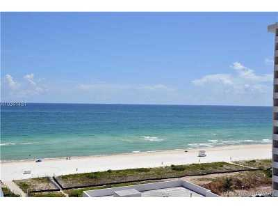 Miami-Dade County Condo Active-Available: 5875 Collins Ave #1108