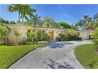 Coral Gables Single Family Home Active-Available: 140 West Sunrise Ave